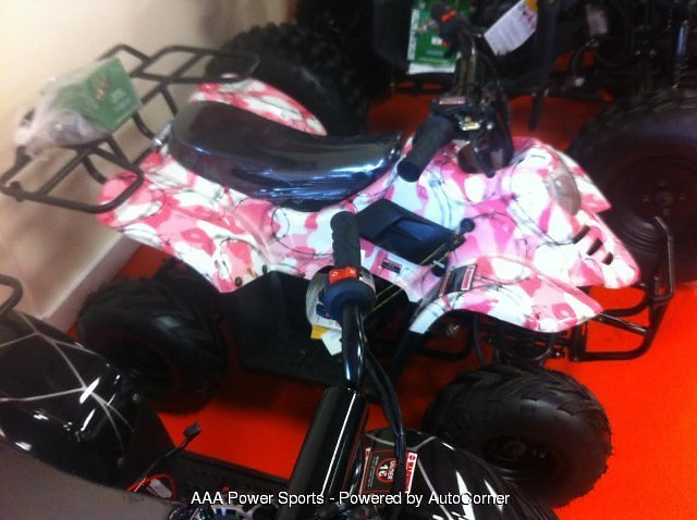 2020 Cougar 110cc Hook - Pink Camo w/ Barbed Wire