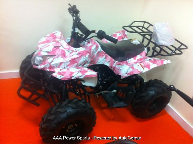2016 Cougar 125cc Shark - Pink Camo w/ Barbed Wire