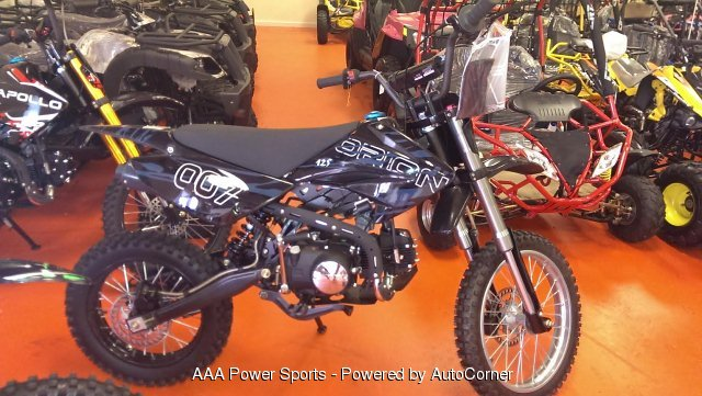 2016 Apollo 125cc Dirt Bike - Orion - Slate Gray